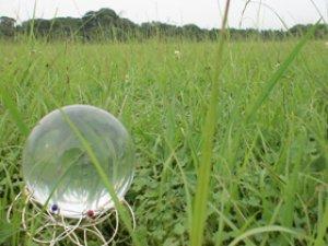 画像1: クリスタルボール 76mm
