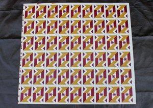 画像1: Vieleck uncut sheet