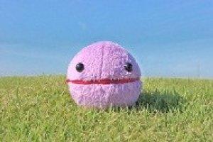 画像1: Crystal Pakkun  purple 100mm